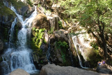 View of Corlieu Falls